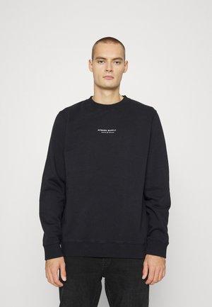 SUPPLY CREW NECK - Sweater - black