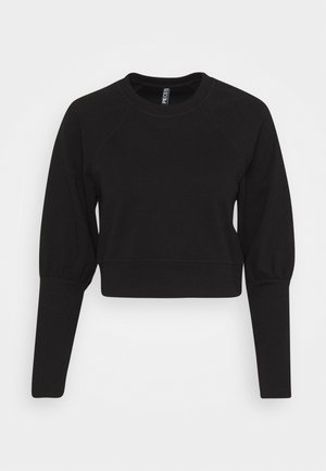 PCROSAN - Long sleeved top - black