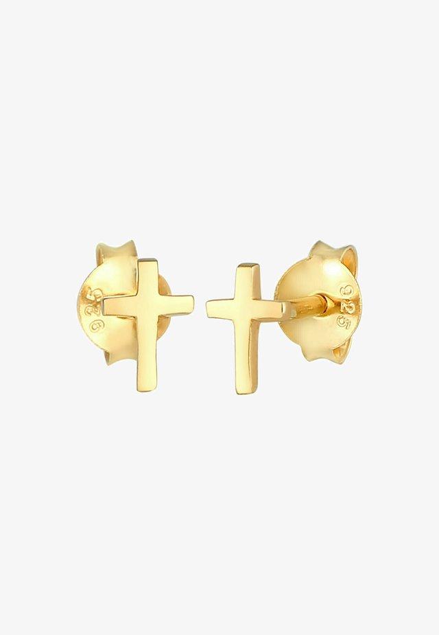 Náušnice - gold