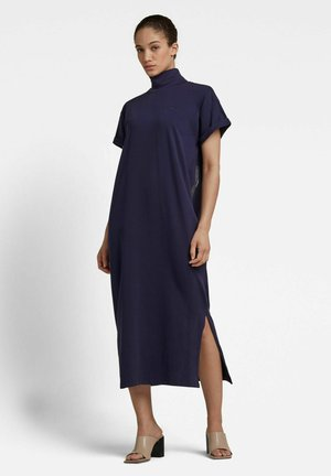 Jersey dress - sartho blue