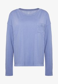 Gap Tall - AUTH BOXY TEE - Long sleeved top - larkspur - 3