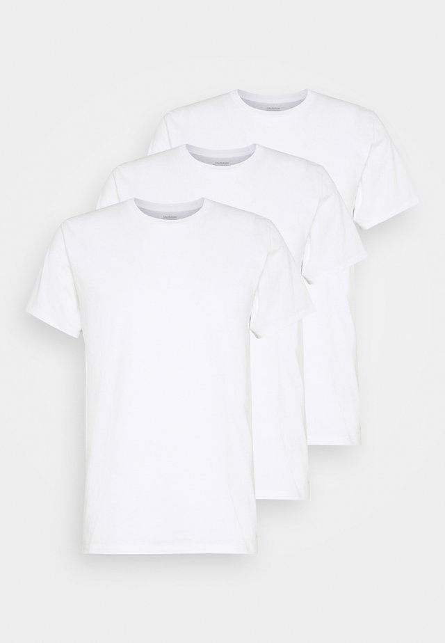 CLASSICS CREW NECK 3 PACK - Undershirt - white