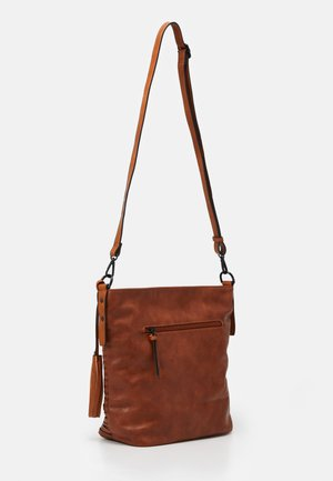 BARBARA - Shopping Bag - cognac
