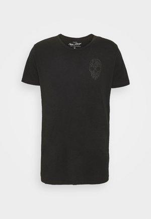 BRONCO ROUND - Print T-shirt - black