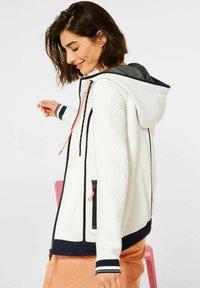 Cecil - Zip-up hoodie - weiß - 2