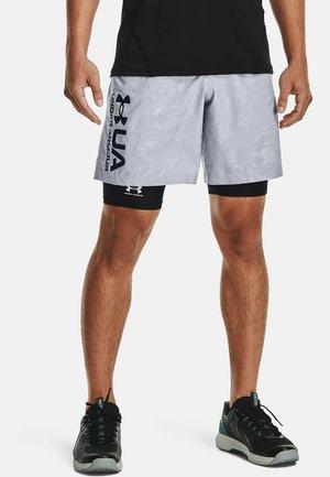 EMBOSS SHORTS - Short de sport - mod gray