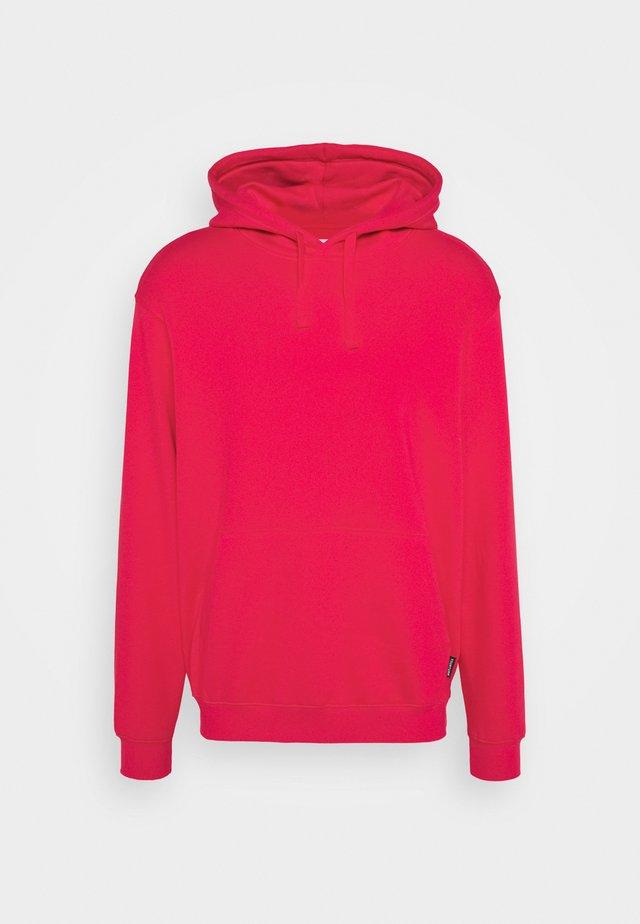 UNISEX - Felpa con cappuccio - red