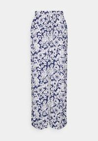 Gina Tricot - DISA TROUSERS - Pantalon classique - blue flower - 0