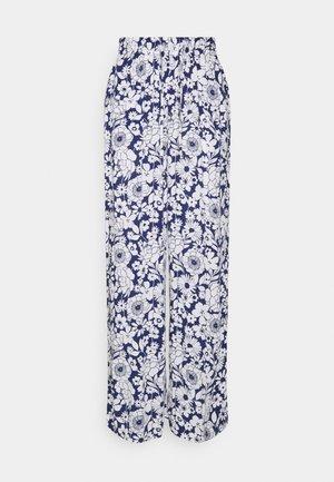 DISA TROUSERS - Broek - blue flower