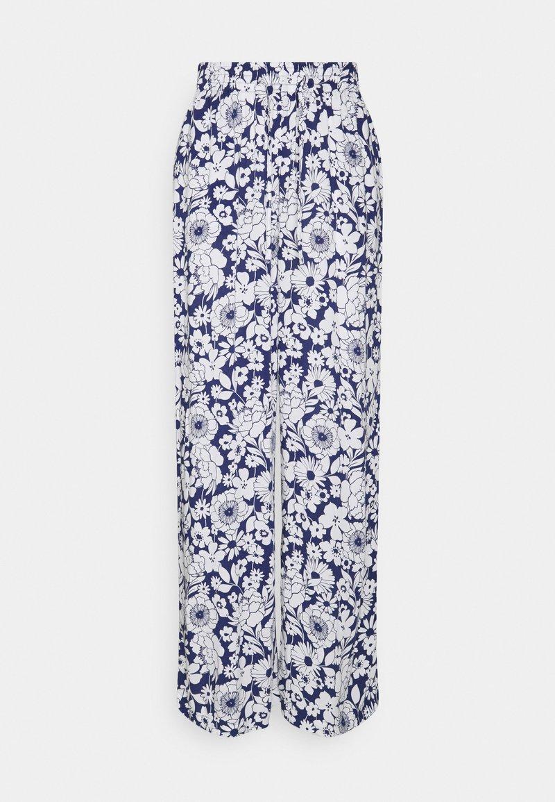 Gina Tricot - DISA TROUSERS - Pantalon classique - blue flower