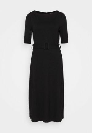 ICONIC - Jumper dress - black