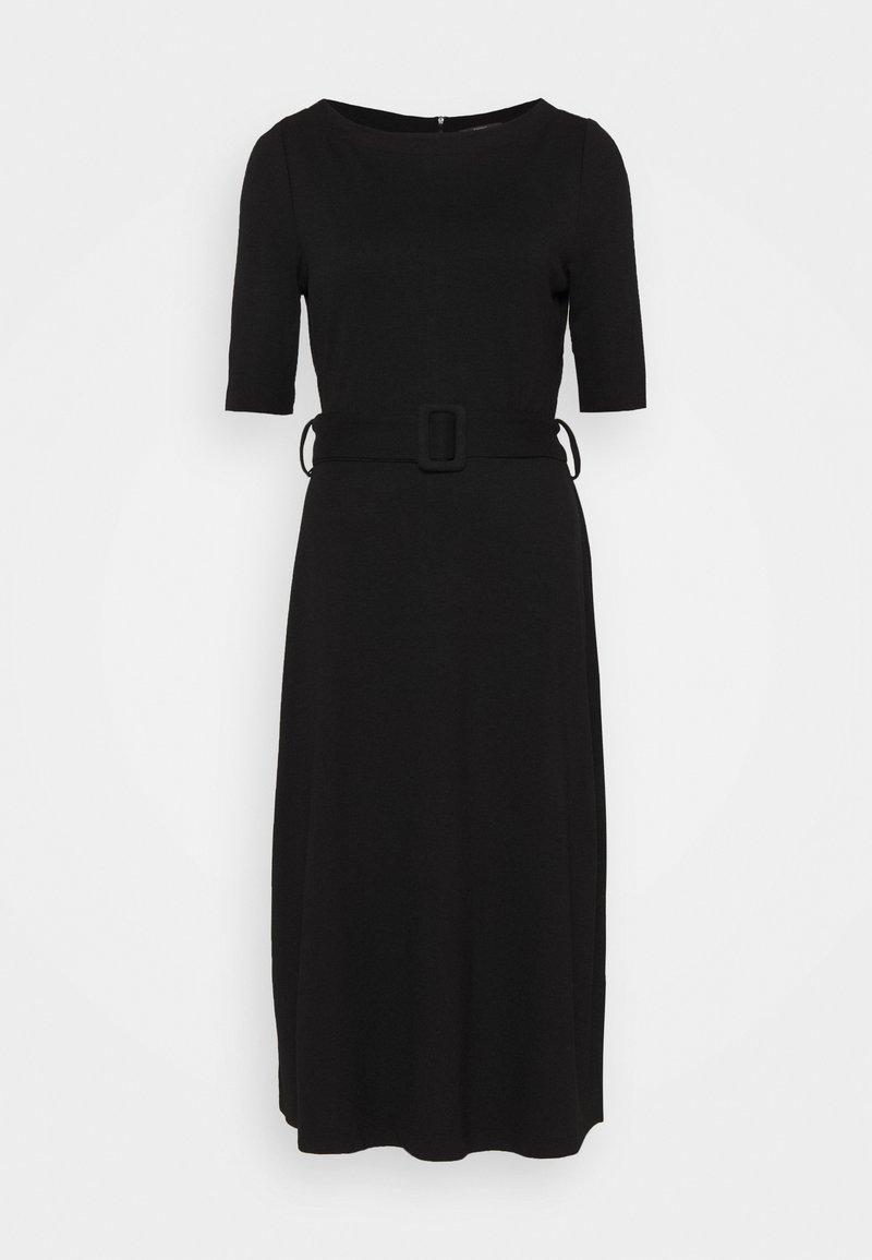 Esprit Collection - ICONIC - Stickad klänning - black