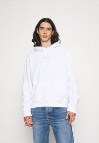 Calvin Klein Jeans - MICRO BRANDING - Huppari - white - 0