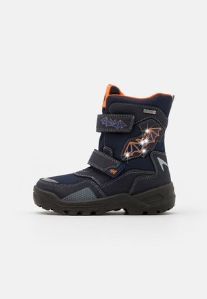 KOBIN SYMPATEX - Zimní obuv - atlantic/orange