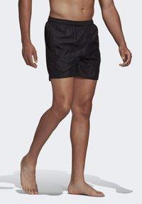adidas Performance - SOLID CLASSICS SL PRIMEGREEN SWIM SHORTS - Swimming shorts - black - 2