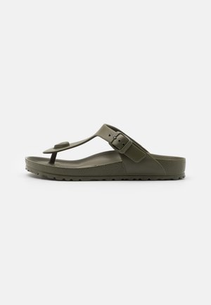 GIZEH  - T-bar sandals - khaki