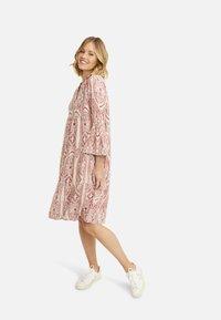Smith&Soul - Shirt dress - burgundy print - 2