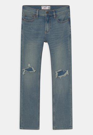 Jeans a sigaretta - light-blue denim
