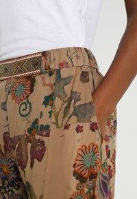 Desigual - PANT CLARIS - Trousers - green - 3