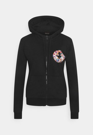 JANE ZIP HOODIE - Zip-up hoodie - black
