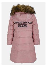 Cipo & Baxx - MIT HANDSCHUHEN - Winter coat - pink - 4
