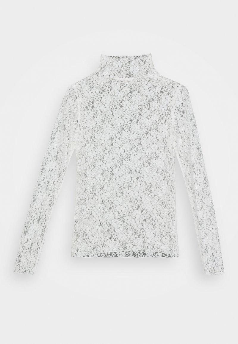Esqualo STRETCH - Bluse - offwhite 4uTpVc