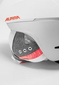 Alpina - SPICE - Kask - white/flamingo matt - 7
