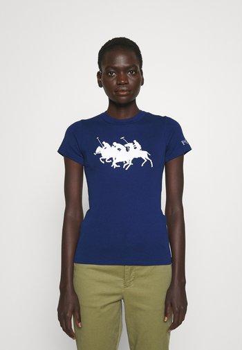 TEE SHORT SLEEVE - T-shirt con stampa - fall royal