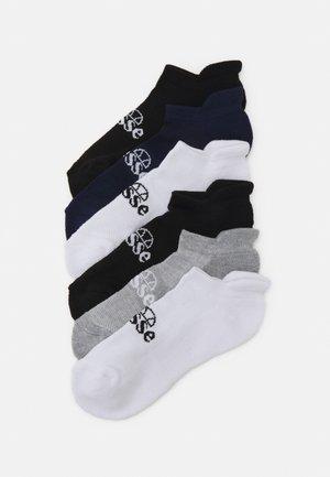 TEBAN TRAINER SOCK 6 PACK UNISEX - Socks - black/white/dark blue