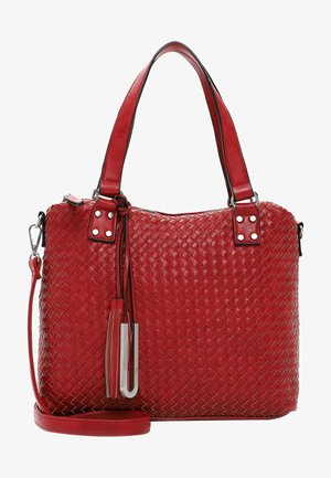FALINA - Tote bag - red