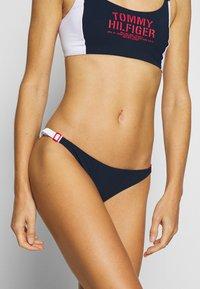 Tommy Hilfiger - SUMMER PATROL - Bikini bottoms - pitch blue - 0