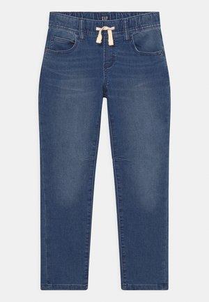 BOY WORN - Relaxed fit jeans - dark blue