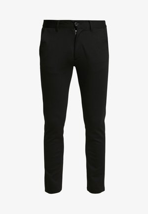 PONTE ROMA PLAIN - Trousers - black