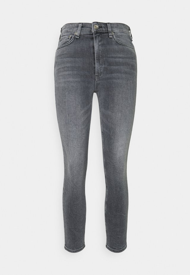 NINA HIGH RISE ANKLE - Jeans Skinny - sand river
