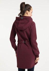 Schmuddelwedda - Zip-up sweatshirt - bordeaux - 2