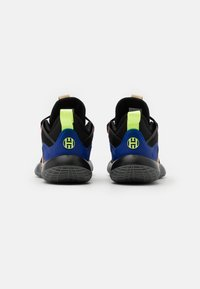adidas Performance - HARDEN STEPBACK 2 UNISEX - Basketbalové boty - core black/yellow/active mint - 2
