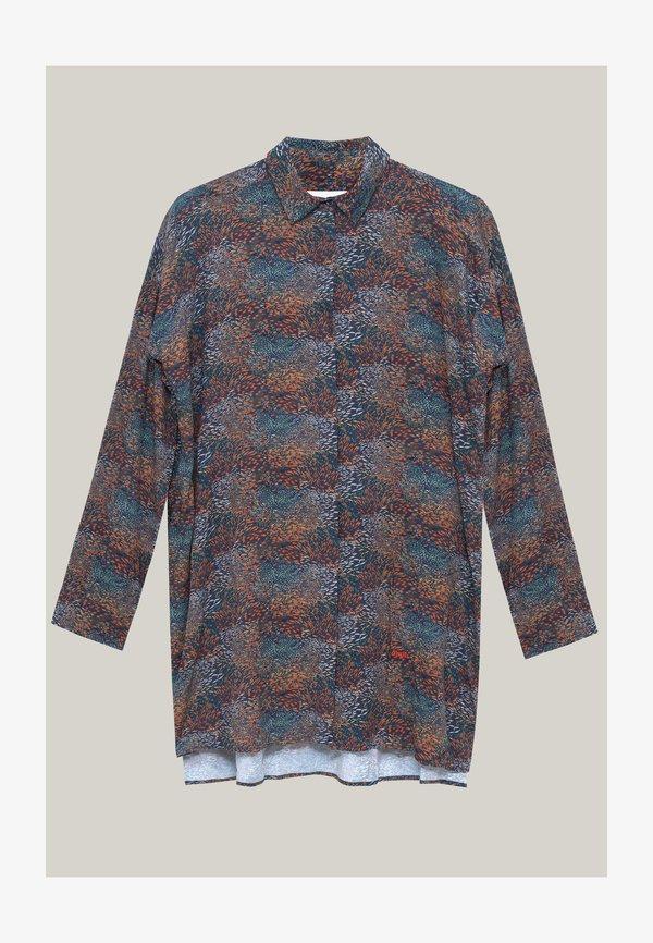 Brava Fabrics Koszula - brown/brązowy QAVJ