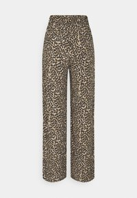 ONLY - ONLANNEMONE LONG PALAZZO PANT - Trousers - pumice stone - 1
