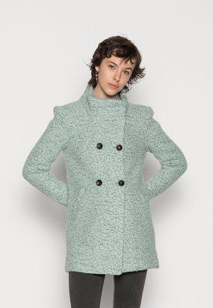 ONLNEWSOPHIA COAT - Classic coat - frosty green melange/mallard green