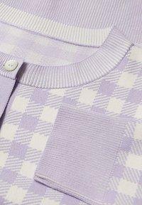 Mango - COLORINA - Cardigan - violet clair/pastel - 6