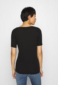 Marc O'Polo - SHORT SLEEVE BOAT NECK - Basic T-shirt - black - 2