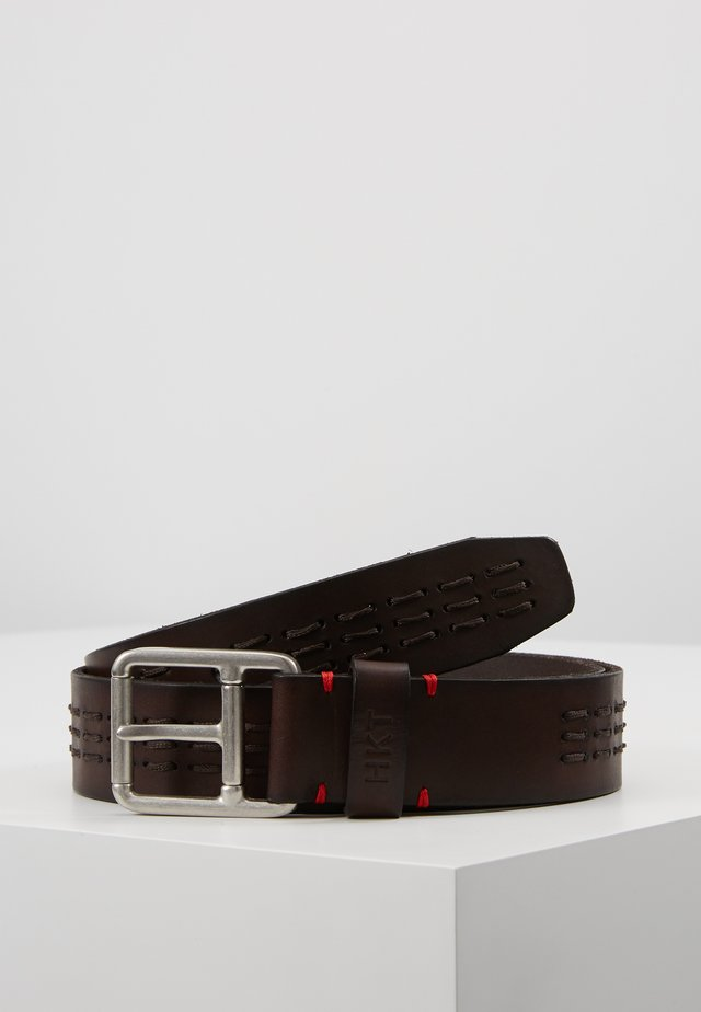 TRIPLE STITCH BELT - Ceinture - brown