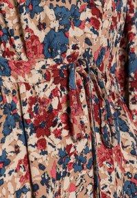 TOM TAILOR - DRESS PRINTED MIDI - Maxi dress - pink big design - 4