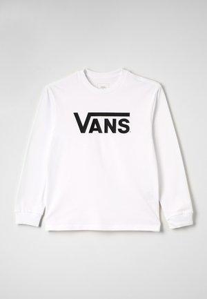 CLASSIC  - Bluzka z długim rękawem - white/black