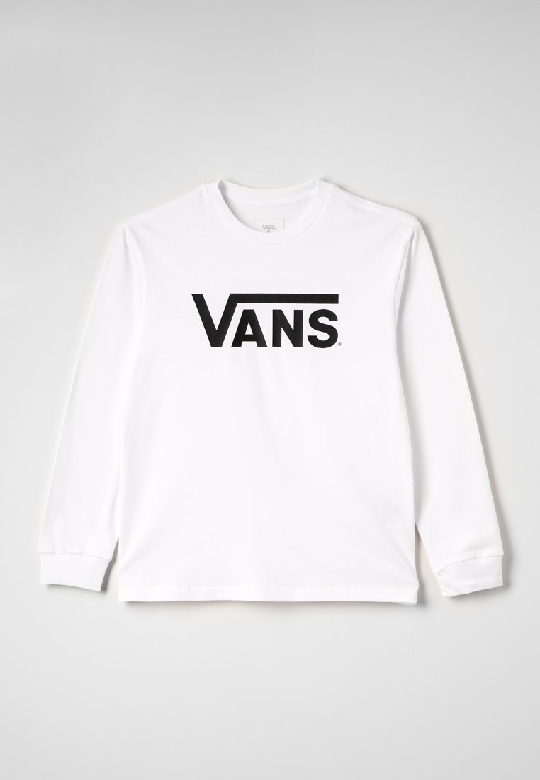 Vans - CLASSIC  - Bluzka z długim rękawem - white/black