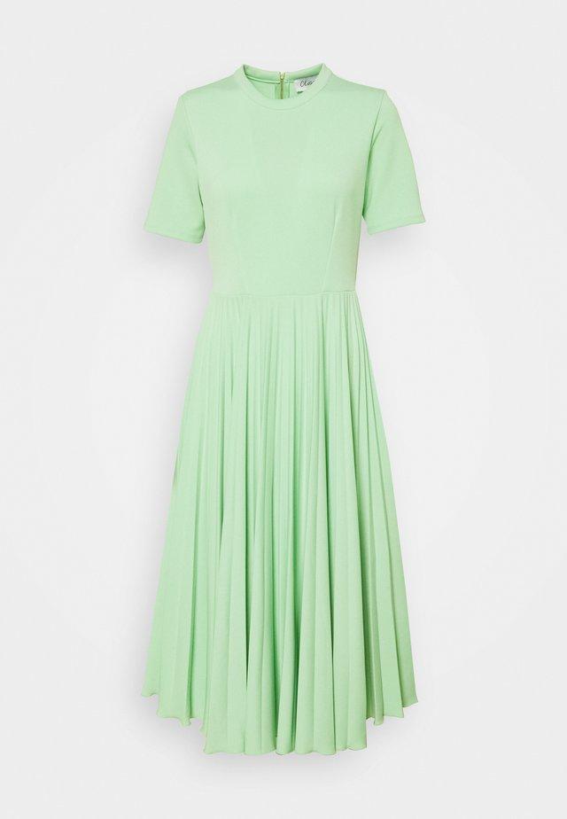 CLOSET PLEATED COLLARED DRESS - Jersey dress - mint