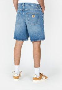 Carhartt WIP - NEWEL - Denim shorts - blue - 1