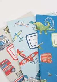 Cath Kidston - DINOS IN LONDON KIDS 3 PACK NOTEBOOKS - Jiné - cadet blue - 3