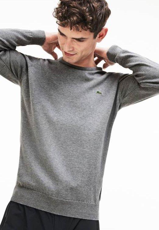 Maglione - grau / weiß / grau