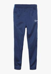 Nike Performance - ACADEMY WINTERIZED - Tracksuit bottoms - coastal blue/photo blue/reflective silver - 0